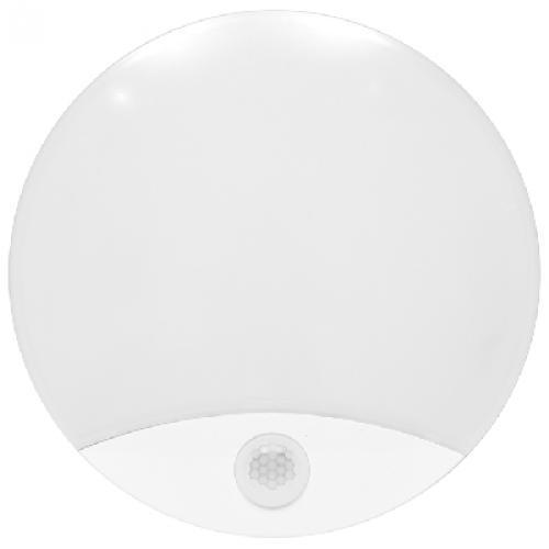 LED nástìnné a stropní svítidlo s PIR senzorem Ecolite LORA WHST71-LED, 15W, 4100K, IP44
