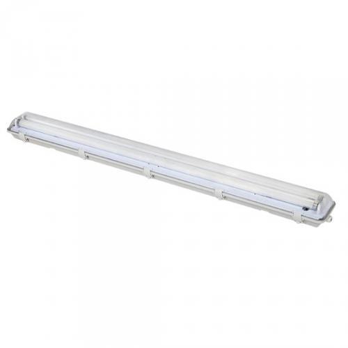 Stropní osvìtlení prachotìsné, G13, pro 2x 120cm LED trubice, IP65, 127cm, Solight WO512