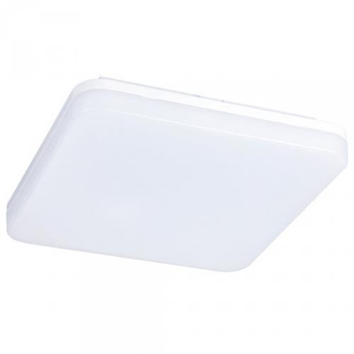 LED venkovní osvìtlení, pøisazené, ètvercové, IP44, 24W, 1920lm, 4000K, 28cm, Solight WO732-1