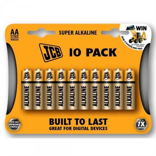 Alkalická baterie JCB SUPER LR06 AA tužkové blistr 10 ks - zvìtšit obrázek