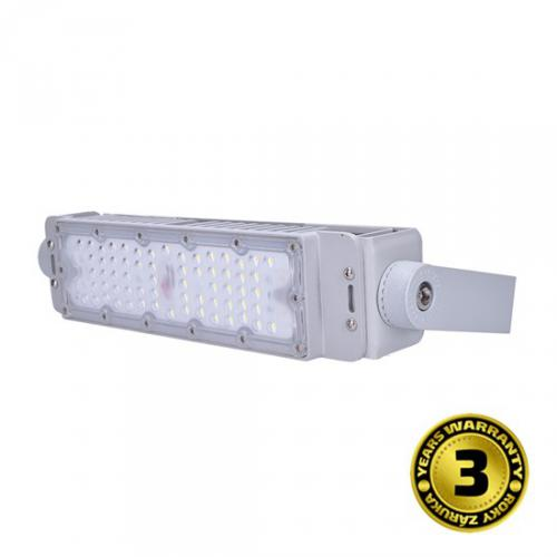 LED venkovní reflektor Pro+2, 50W, 6500lm, 5000K, IP65 šedá, Solight WM-50W-PP