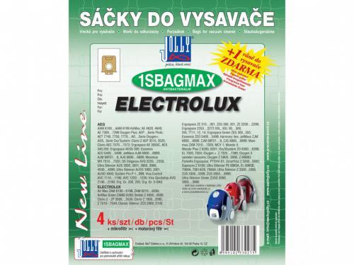 Sáèky do vysavaèe Jolly 1SBAG MAX Electrolux 4ks textilní 3027