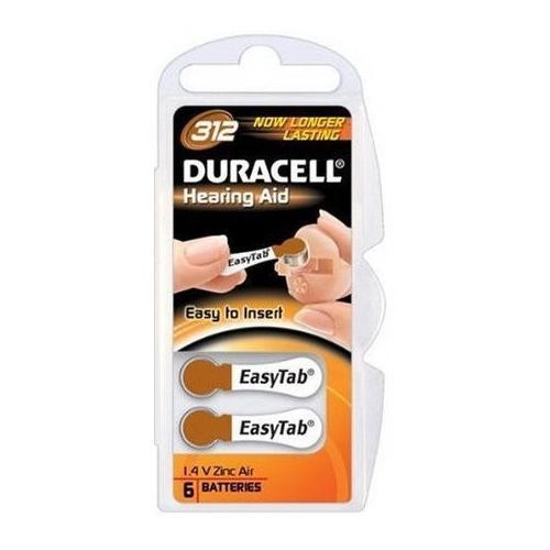 Baterie Duracell 312 PR41 1,4V do naslouchadel blistr 6 ks v balení - zvìtšit obrázek