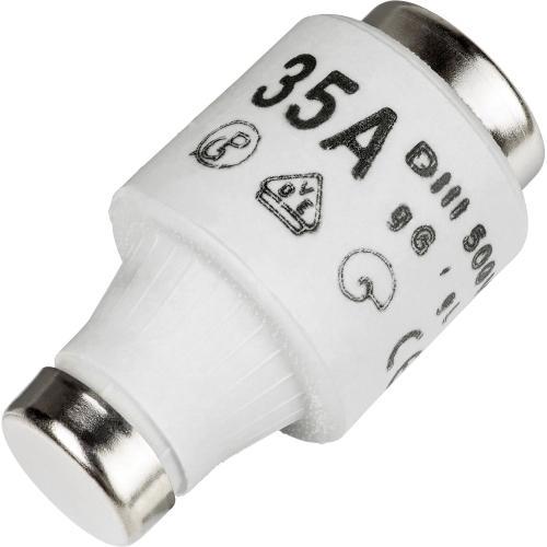 Pojistka keramická DIII-35A normální 500V èerná - zvìtšit obrázek