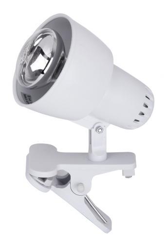Lampièka na klip Rabalux Clip spot, E14, max. 40W, bílá, 004356