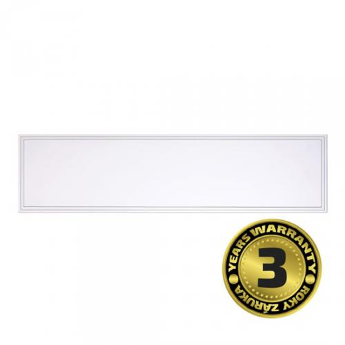 LED svìtelný panel Backlit, 40W, 4000lm, 4000K, Lifud, 30x120cm, 3 roky záruka, bílá barva, Solight WO17-W
