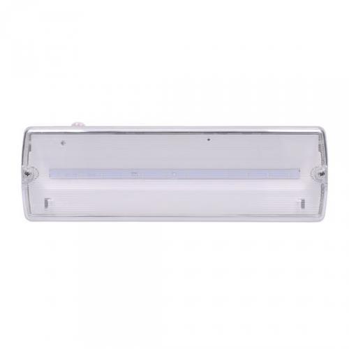 LED nouzové osvìtlení, 3,2W, 175lm, IP65, NiCd 800mAh baterie, testovací tlaèítko, 3h, Solight WO526