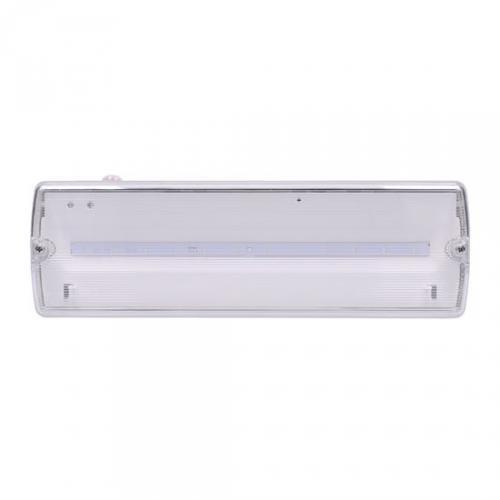 LED nouzové osvìtlení, 6W, 270lm, IP65, LiFePo4 1500mAh baterie, 3h, autotest, Solight WO527