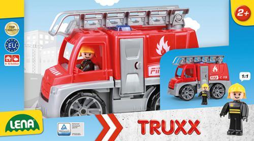 TRUXX hasièi, okrasný kartón ( s figurkou )