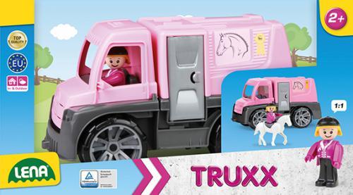 TRUXX koòský transport, ozdobný kartón ( s figurkou a konìm )