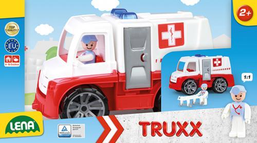 TRUXX sanitka, ozdobný kartón ( s figurkou )