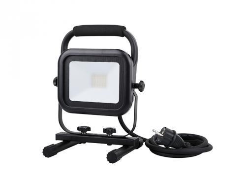 LED reflektor Panlux LED VANA HANDY Z 30W montážní reflektor se 2 zásuvkami, 4000K, neutrální bílá, IP44, PN54300003