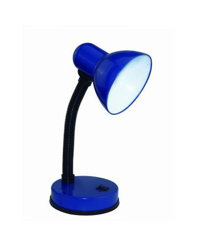 Žárovková stolní lampièka modrá GAMA KM4010-MD, E27 max. 60W