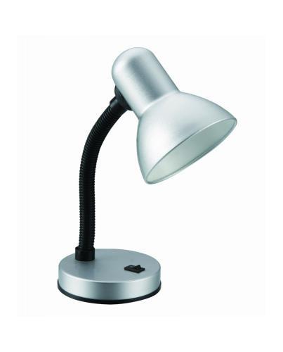 Žárovková stolní lampièka støíbrná GAMA KM4010-ST, E27 max. 60W