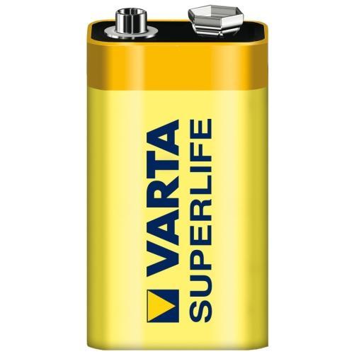 Baterie Varta Superlife 9V / 6F22 Zinc-Carbon, blistr 1 kus - zvìtšit obrázek