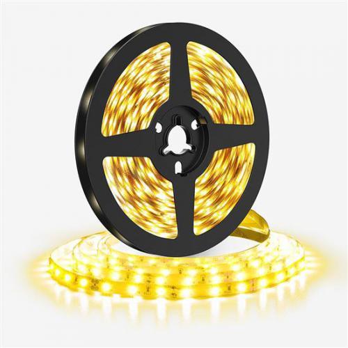 LED svìtelný pás 5m, 120LED/m, 10W/m, 1100lm/m, IP20, teplá bílá 3000K, Solight WM611