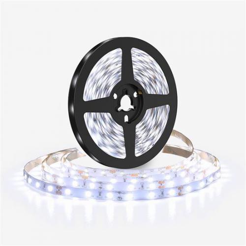 LED svìtelný pás 5m, 198LED/m, 16W/m, 1500lm/m, IP20, studená bílá, 6500K, Solight WM612