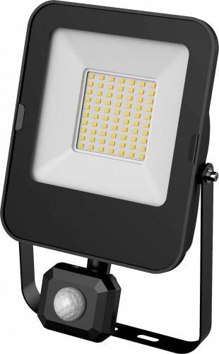 LED reflektor s PIR èidlem ALFA PIR SMD 50W CW, 6000K, 5000lm, IP44, Greenlux GXLR056