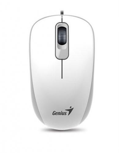 Optická drátová myš GENIUS DX-110 USB White