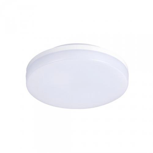 LED venkovní osvìtlení, pøisazené, kulaté, IP54, 15W, 1150lm, 4000K, 22cm, Solight WO731-1