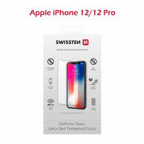 Ochranné temperované sklo Swissten APPLE IPHONE 12/12 Pro RE 2,5D - 74517872
