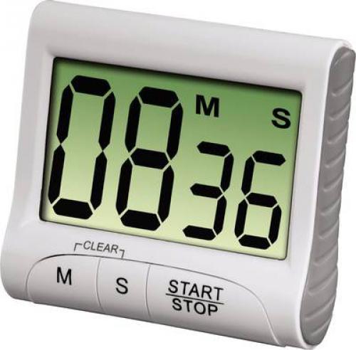 Digitální kuchyòská minutka Xavax Countdown, bílá, Hama 111319