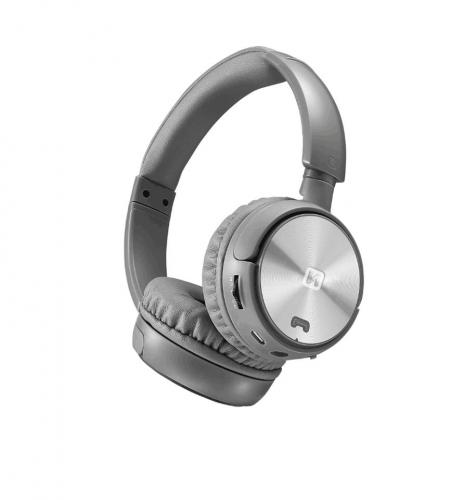 Elegantní bluetooth sluchátka Swissten Trix støíbrno/šedá, 52510501