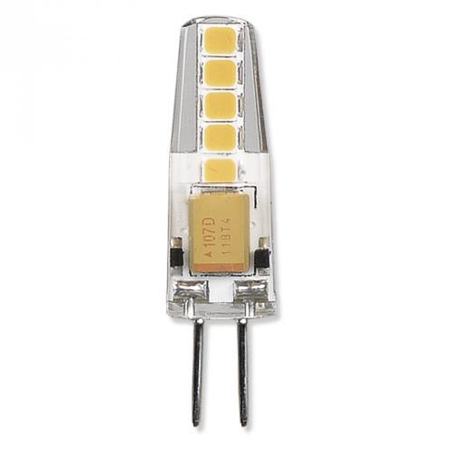 LED žárovka Classic JC 2W, 12V, G4, 3000K - teplá bílá, 210lm, EMOS ZQ8620 - zvìtšit obrázek