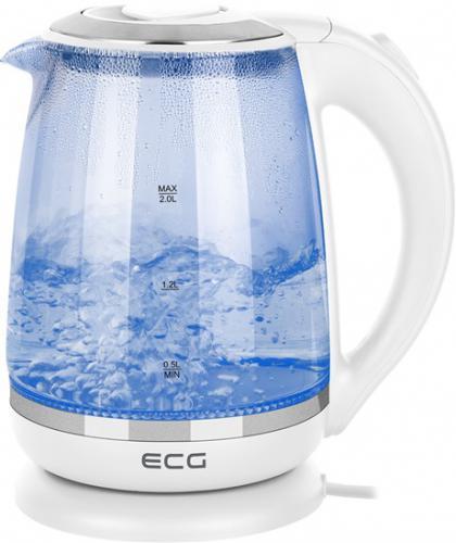 Rychlovarná kovice ECG RK 2020 White Glass, objem 2,0 l - zvìtšit obrázek