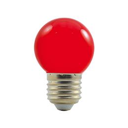 LED G45 230-240V 1W COLOURMAX E27 ÈERVENÁ
