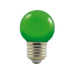 LED G45 230-240V 1W COLOURMAX E27 ZELENÁ