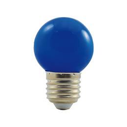 LED G45 230-240V 1W COLOURMAX E27 MODRÁ