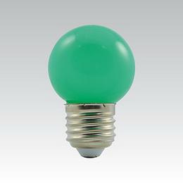 LED G45 230-240V 1W/017 COLOURMAX E27 ZELENÁ IPX4