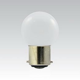 LED G45 230-240V 1W/010 COLOURMAX B22d BÍLÁ IPX4