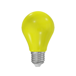 LED A60 230-240V 1W COLOURMAX E27 ŽLUTÁ