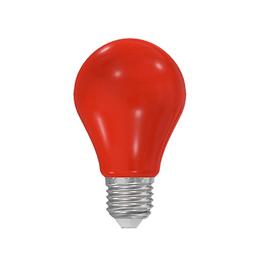 LED A60 230-240V 5W COLOURMAX E27 ÈERVENÁ