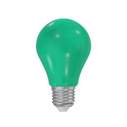 LED A60 230-240V 5W COLOURMAX E27 ZELENÁ