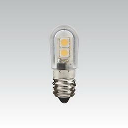 LQ LED T18 24V 0.5W E14 BÍLÁ NBB
