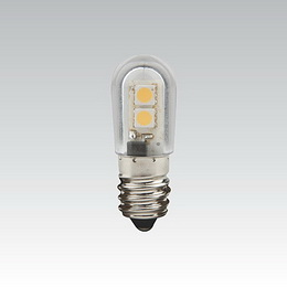 LQ LED T18 60V 0.5W E14 BÍLÁ NBB