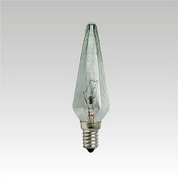 HEXAGONAL CANDLE LAMP 60W E14 CLEAR