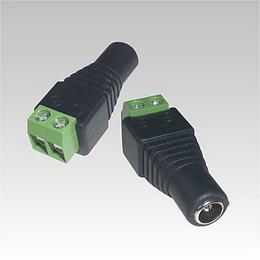 Konektor DC napájecí se svorkovnicí (zásuvka)