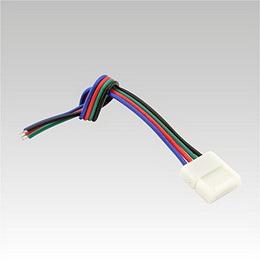 Kabelová napájecí propojka RGB 4-PIN 10 mm