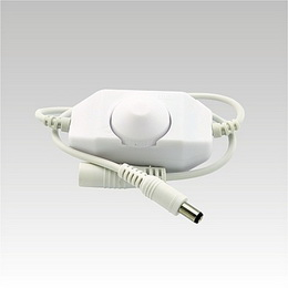 LED Dimmer INLINE 1 barva bílý DC12-24V 1x2A