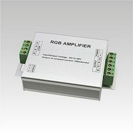 LED RGB Amplifier (opakovaè RGB signálu) konstantní proud DC12-48V 350mA