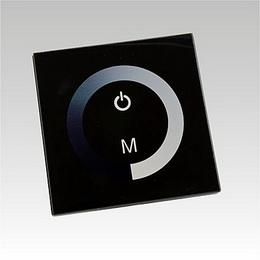 LED dimmer dotykový panel TM06 DC12-24V 1x8A èerný