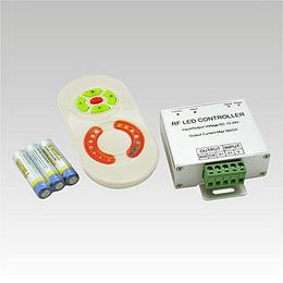 LED CCT controller DC12-24V 2x5A   ovladaè bílý  3AAA (blistr)