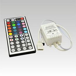 LED IR RGB controller DC12V 3x2A 44 tlaè. klávesnice