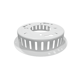 Top connector STEEL WHITE
