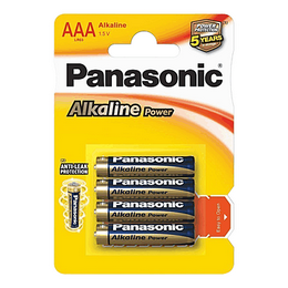 Baterie Panasonic LR03APB/4 ks alkalická BLISTR AAA