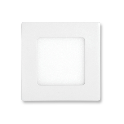 LED panel vestavný Ecolite 6W LED-WSQ-6W/4100 - SMD, 12x12cm, 6W, 4100K, IP20, 440Lm